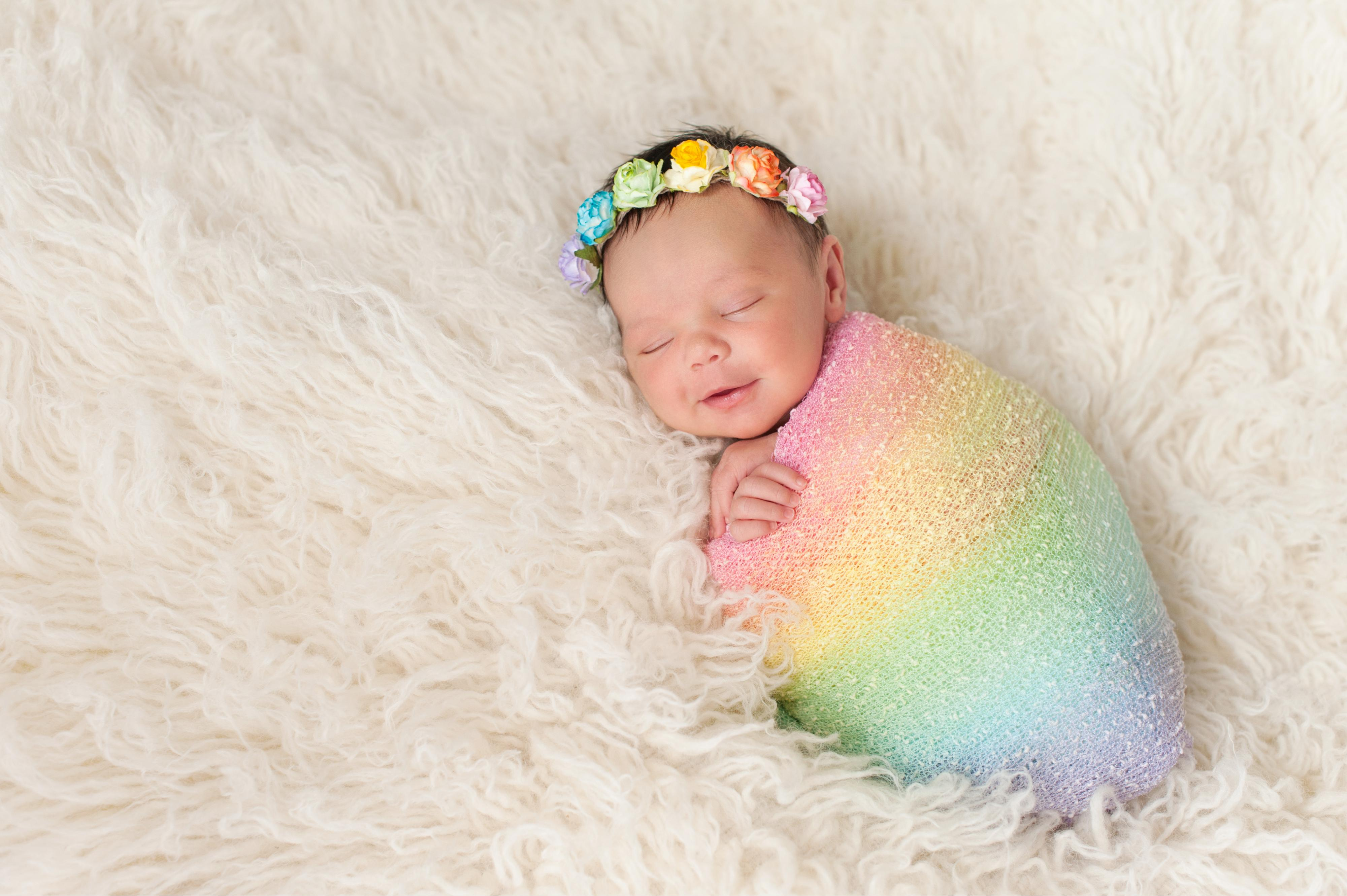 Baby Names For Every Color Of The Rainbow Stacker