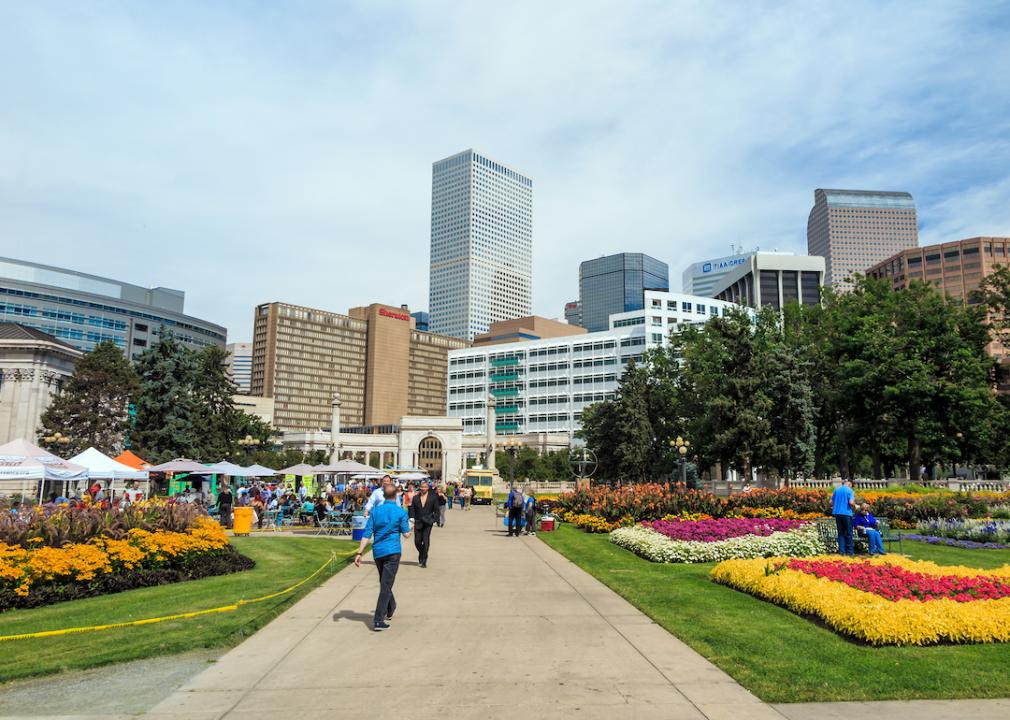 Downtown Denver, Park