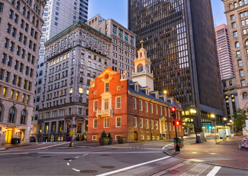 Downtown Boston, Historic Landmark