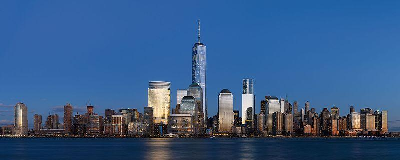 Downtown New York City Skyline