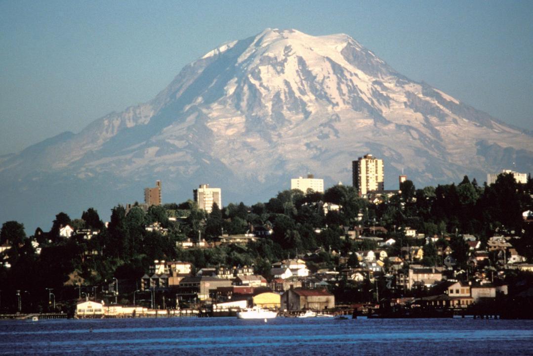 Seattle, Mount Rainier