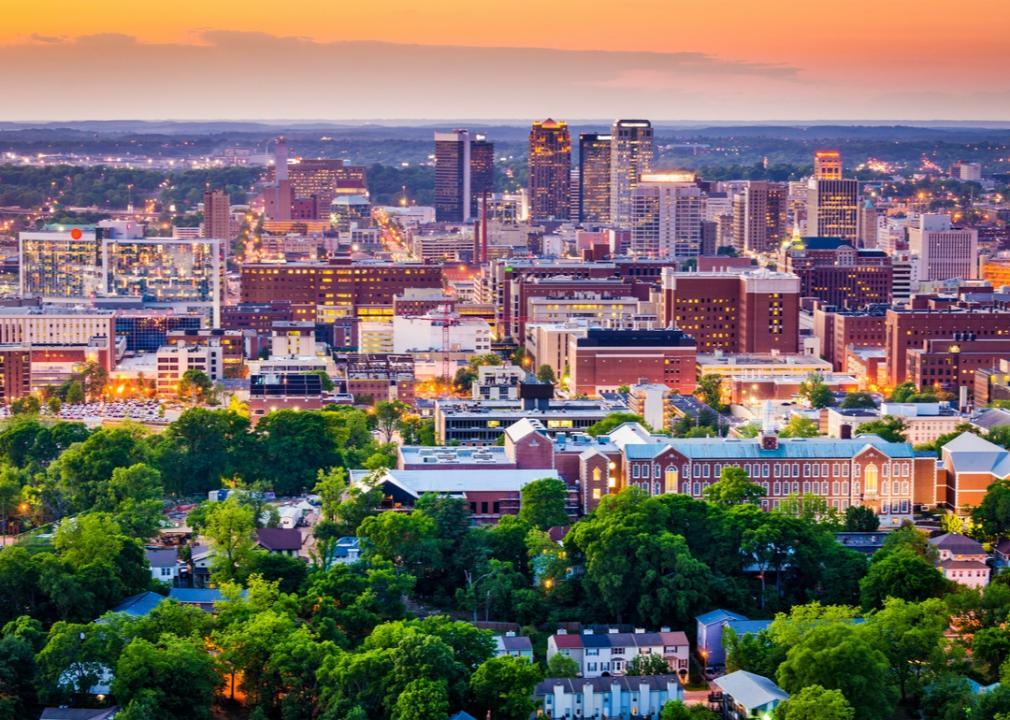 Alabama, downtown skyline