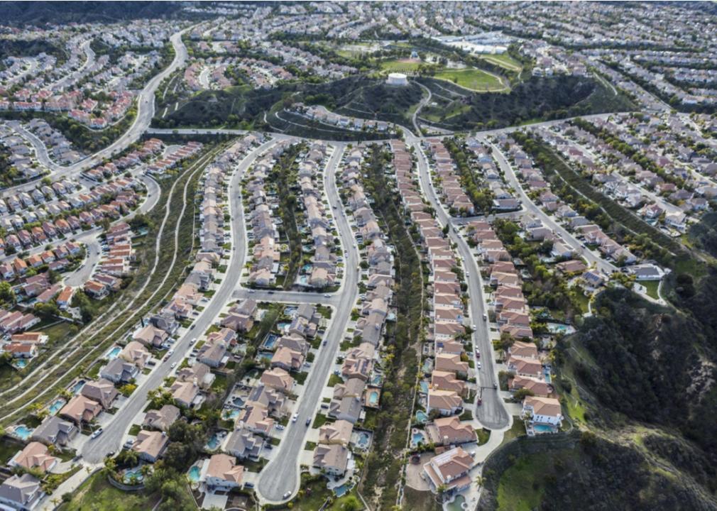 California, bay area suburb