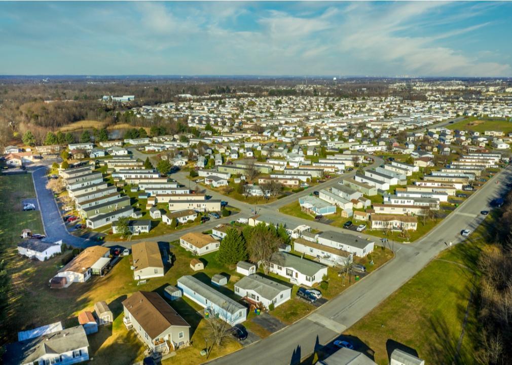 Delaware, trailer park