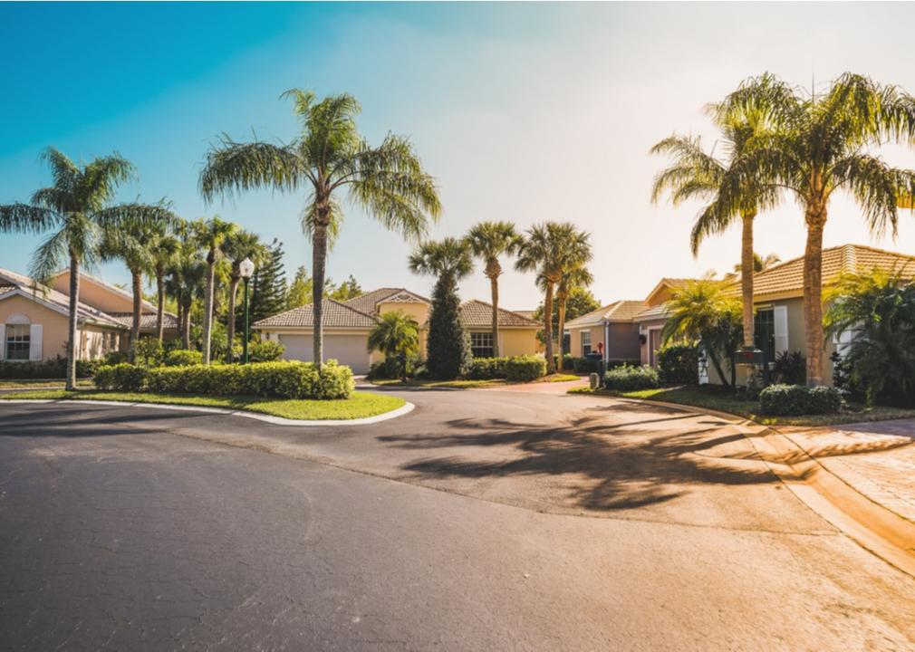 Florida, neighborhood from the street