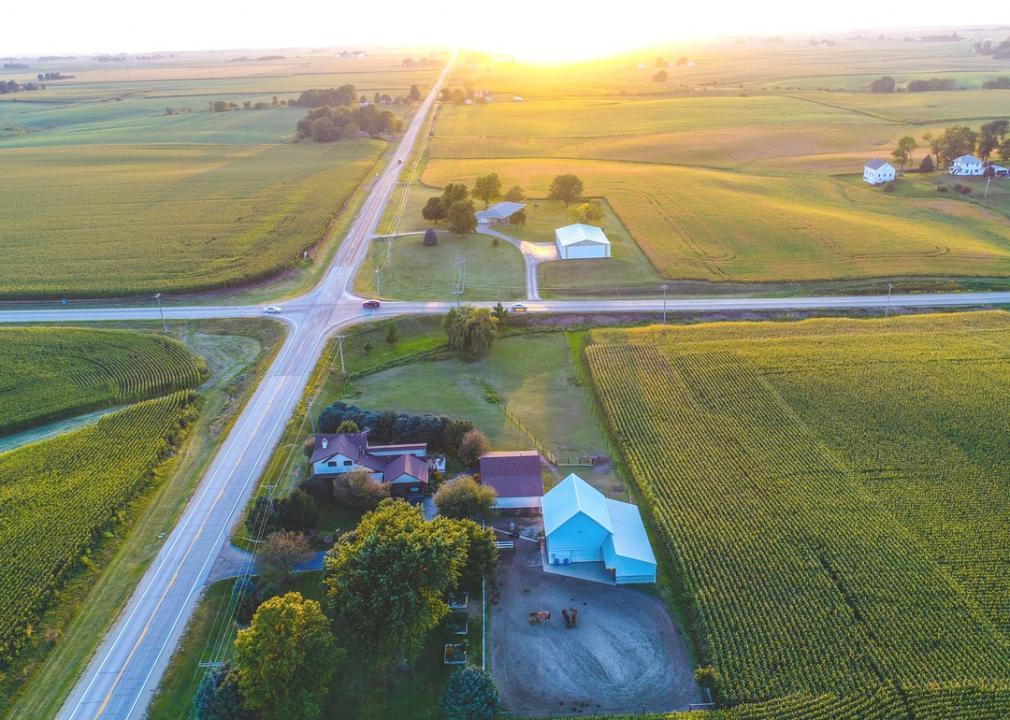 Iowa, farm