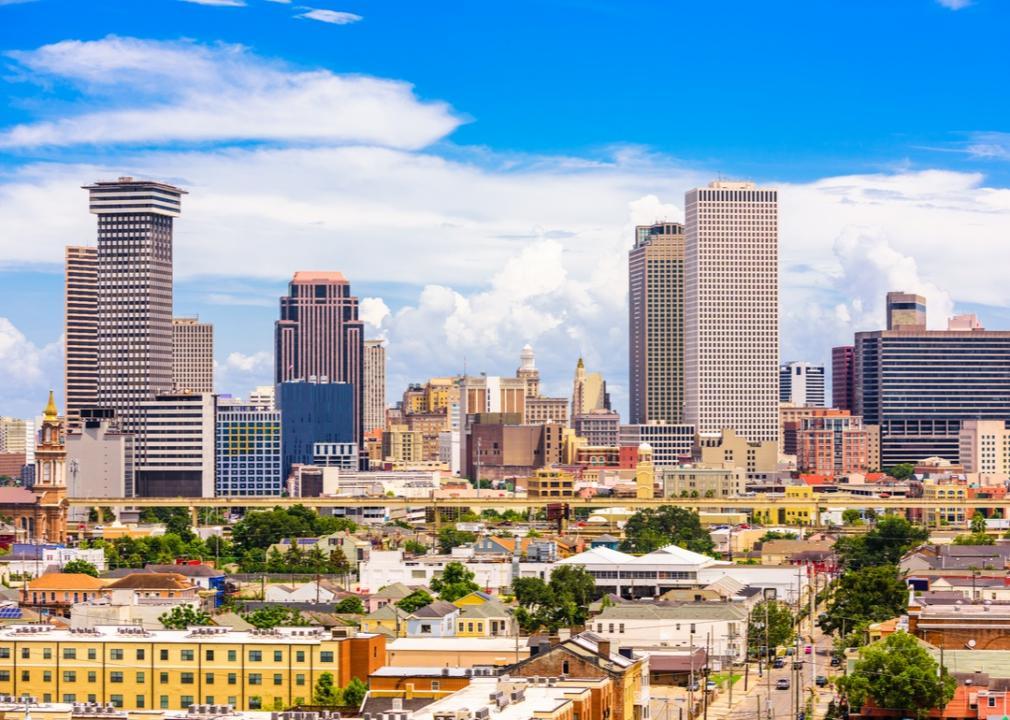 Louisiana, downtown skyline