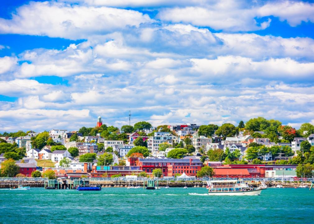Maine, city of Portland