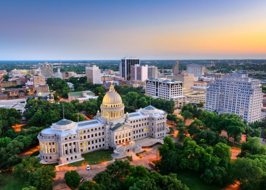 Mississippi, state capitol building