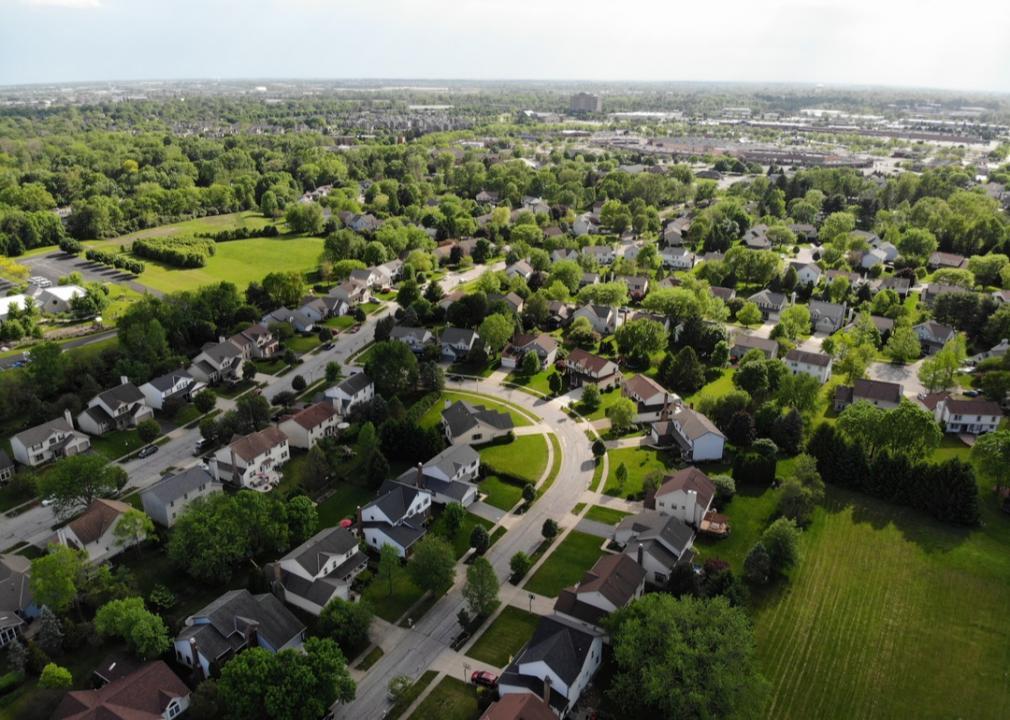 Ohio, suburban neighborhood