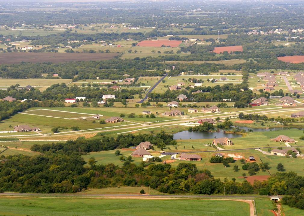 Oklahoma, rural landscape