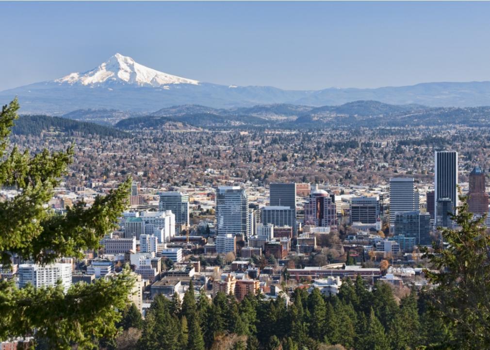 Oregon, downtown Portland