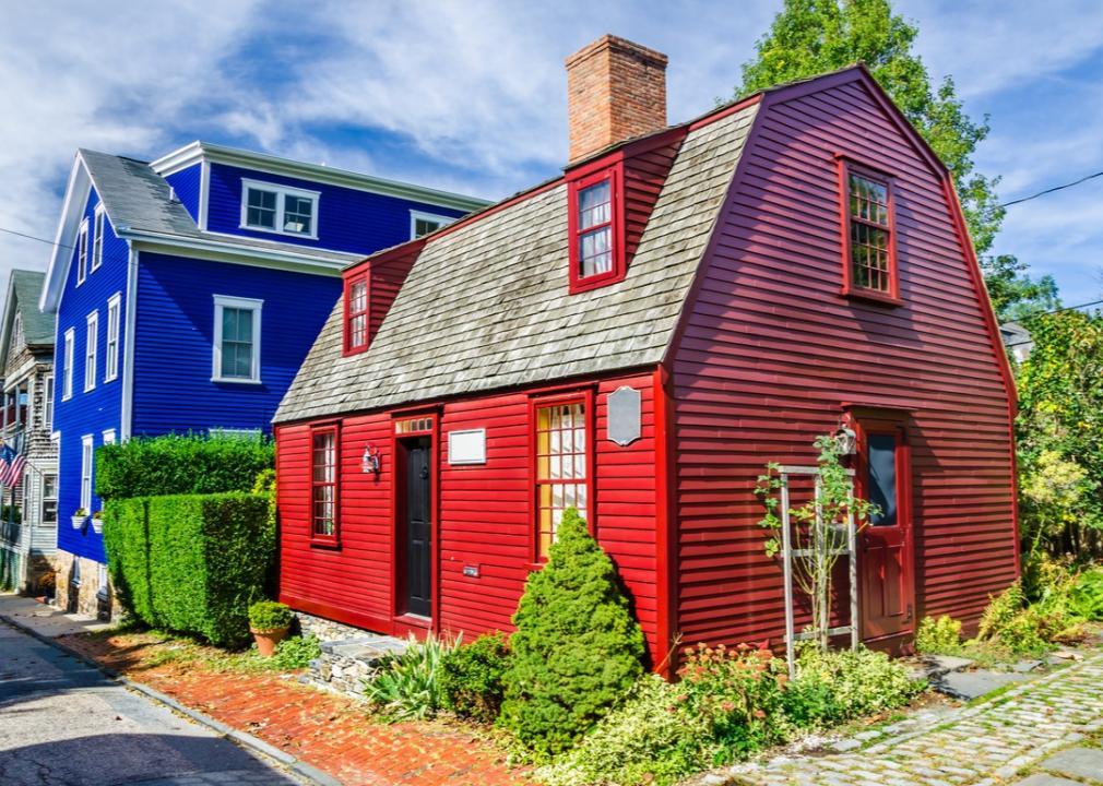 Rhode Island, red barn