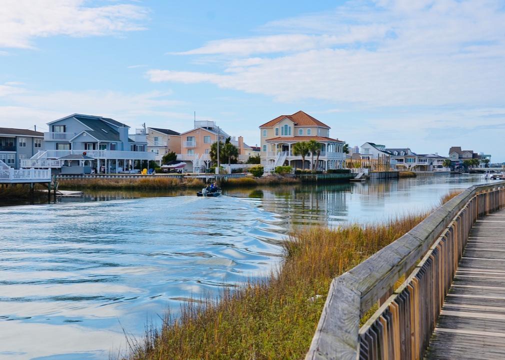 South Carolina, beachfront homes