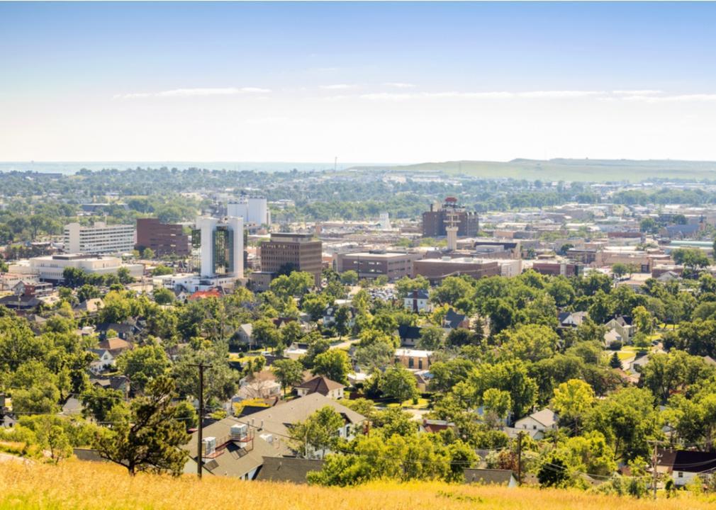 South Dakota, city skyline