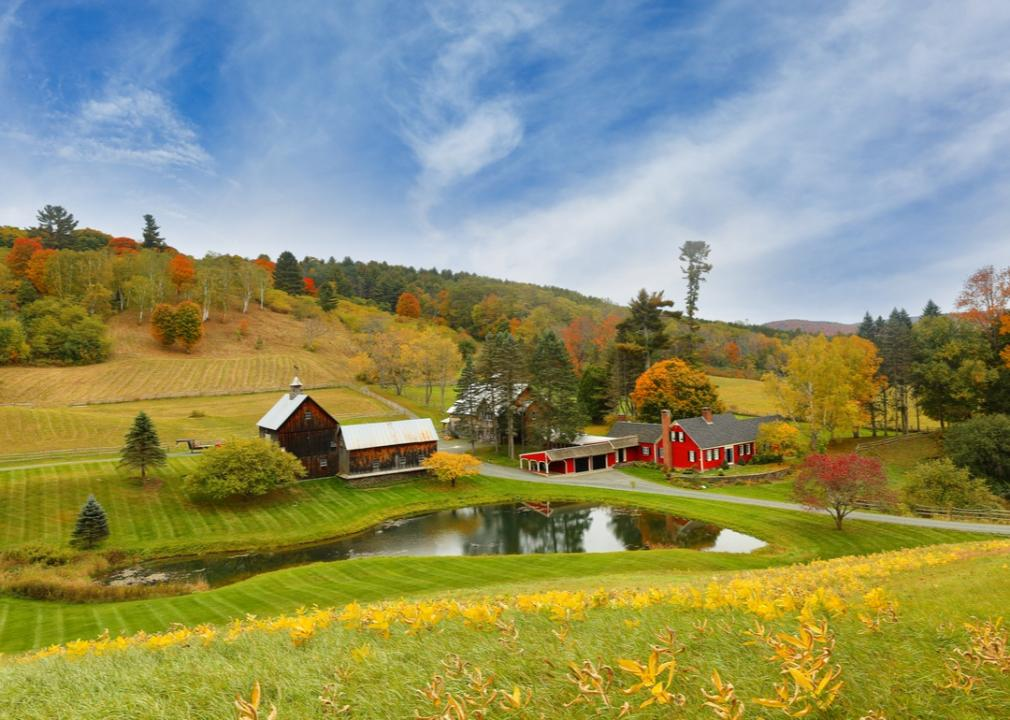 Vermont, farm