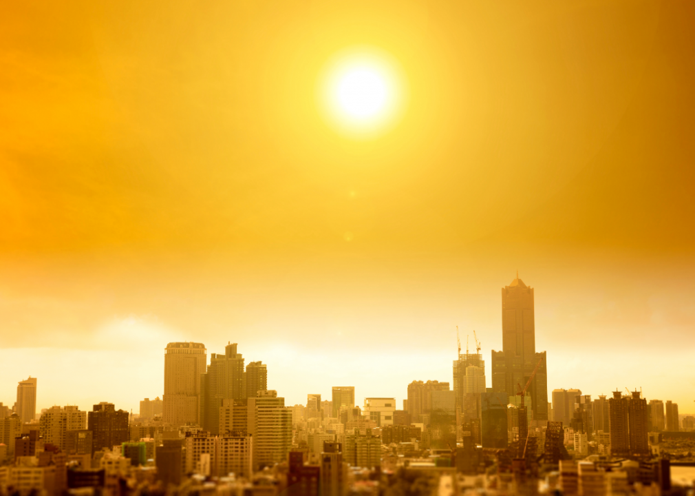50 cities facing more extreme heat in 2020