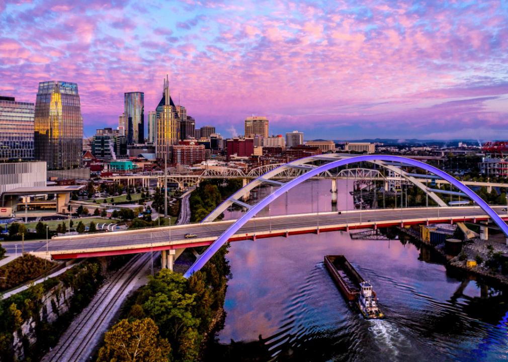 Photo of bridge over river