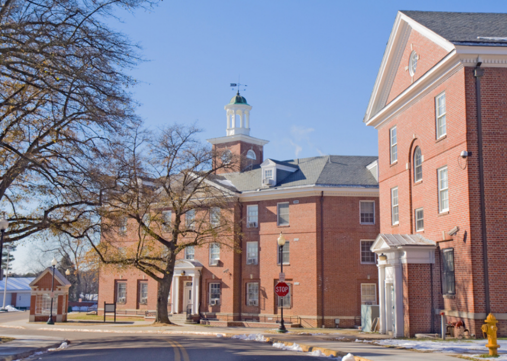 Byrd and Eggleston Halls on the campus of Virginia State University