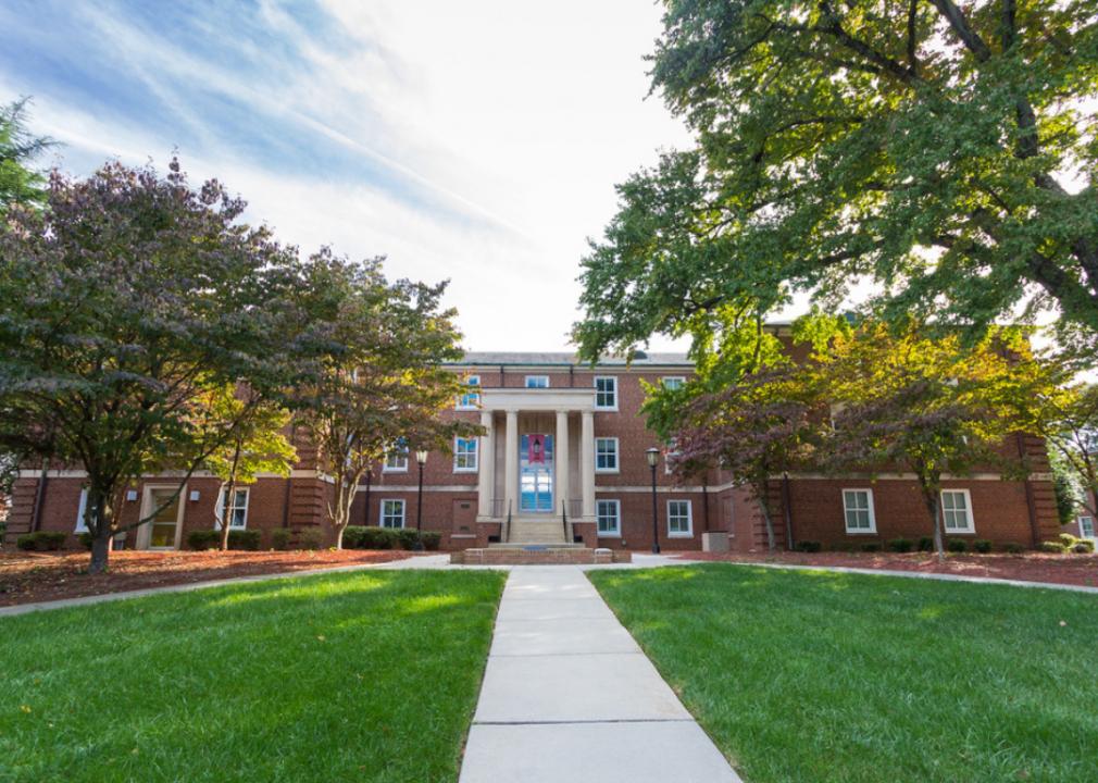 Blair Hall at Winston-Salem State University