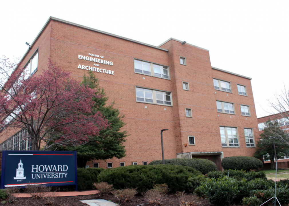 The college of Engineering and Architecture at Howard University