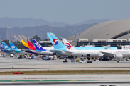 Most popular U.S. flights out of Los Angeles International