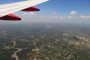Most popular U.S. flights out of San Antonio International