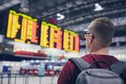Most delayed airlines at Boston Logan International Airport (BOS)