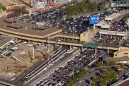 Busiest border crossings for entering the U.S