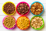 Sugar content of 50 popular breakfast cereals