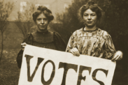 When women got the right to vote in 50 countries