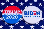 States donating the most to Donald Trump vs. Joe Biden