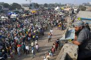 A timeline of farmers' protests in India